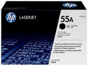 HP 55A BLACK ORIGINAL LASERJET TONER CARTRIDGE [CE255A]